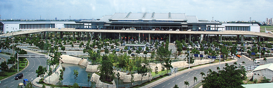Wellcome to Ho Chi Minh airport
