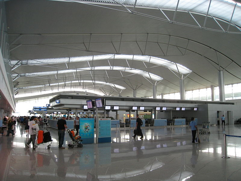 Check in Tan Son Nhat(Ho Chi Minh) airport